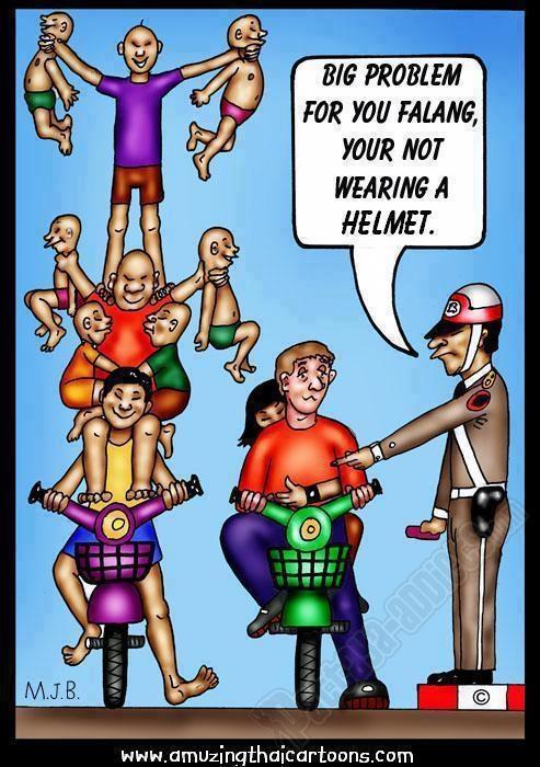 Фаранг без шлема