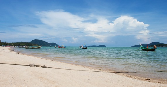 Rawai Beach in Phuket