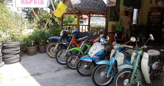 Тех осмотр мотоцикла на Пхукете