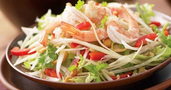 Papaya Salad в Тайланде