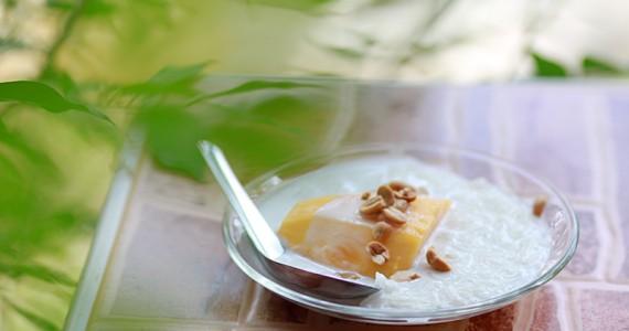 Рис с кокосовым молоком и манго - тайская кухня