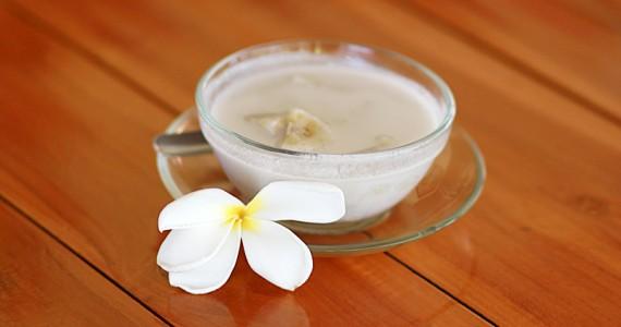 Банановый десерт на кокосовом молоке