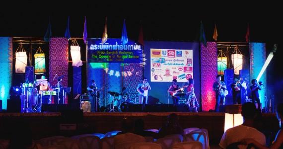 Тайский концерт в Ао Нанге