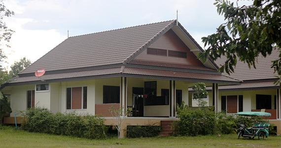 Домик в Тайланде.