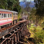 Путешествие на тайском поезде
